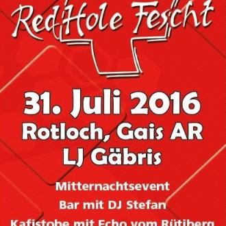RedHole-Fescht Gais