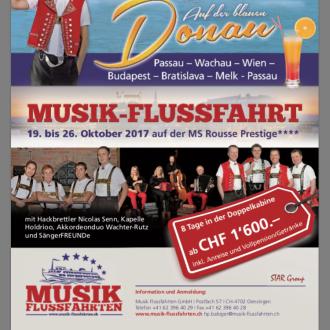 Musikflussfahrt 20.10.17-27.10.17